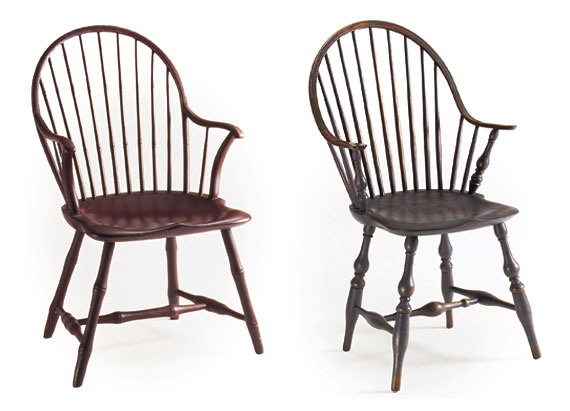 A Guide to Eighteenth-Century Windsor Chairs by user from Antiques & Fine  Art magazine - A Guide To Eighteenth-Century Windsor Chairs By User From Antiques